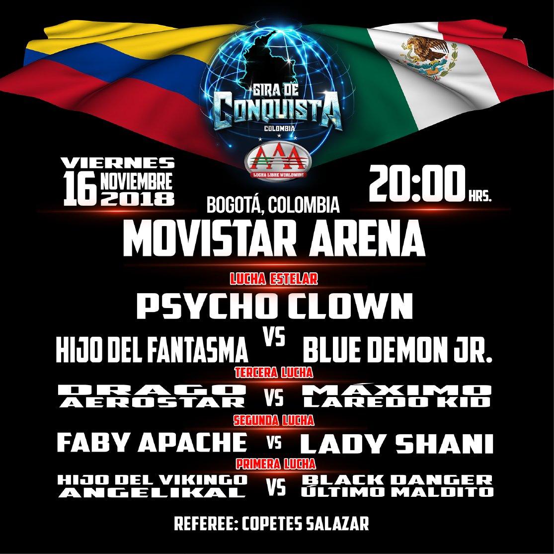 AAA: La Gira de Conquista arrasa en Bogotá 1