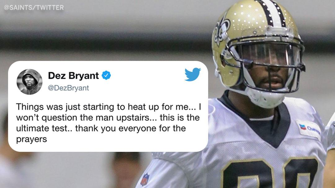 Espn On Twitter The Saints Are Pretty Sure Dez Bryant