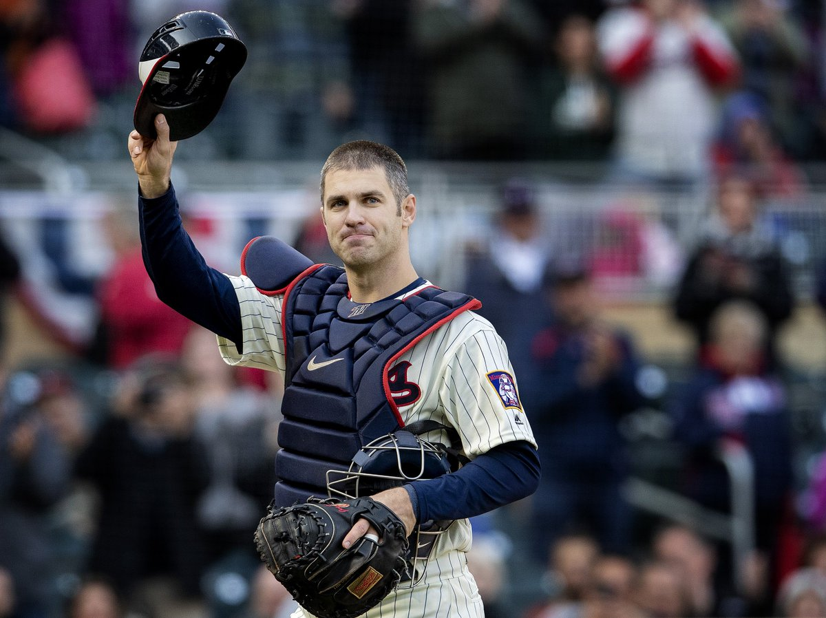 BREAKING: Joe Mauer will officially retire from @MLB and #MNTwins after 15 seasons. Story up from @LaVelleNeal and @MillerStrib https://t.co/sXzo3xkegF https://t.co/cvBTf0E6tY