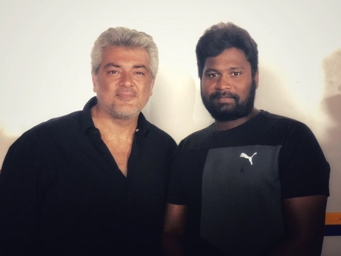 A song sequence and an action sequence were shot in #Pune With that, #Viswasam shoot was completely wrapped Photo