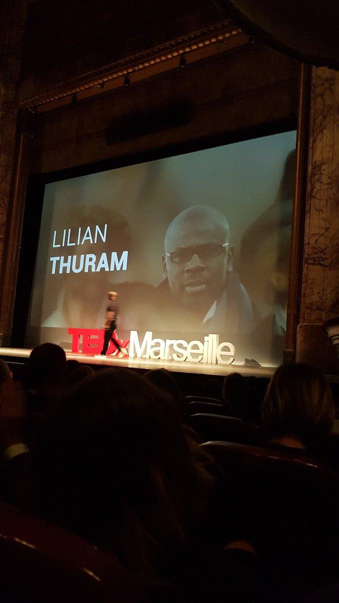 RT @giulianochri: #TEDxMarseille,  Lilian Thuram