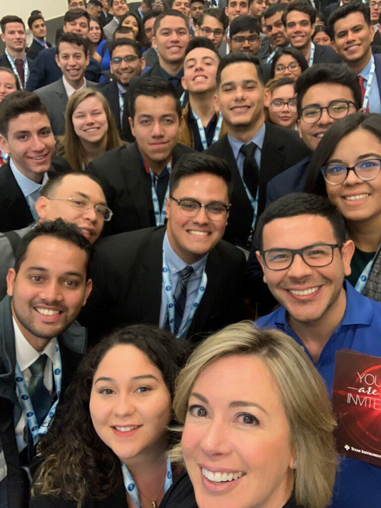 We're in Cleveland for the @SHPE convention! We're having workshops & interviews at booth #1123. #SHPE2018 #TIcareers https://t.co/vxl4QIQ1s0