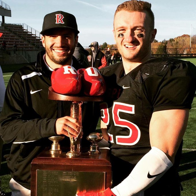 @RPIFootball #FLASHBACKFRIDAY All the Is it noon tomorrow yet? 🏈 #SSSSHHHHOOOEEESSS 👞👞🏆 Photo