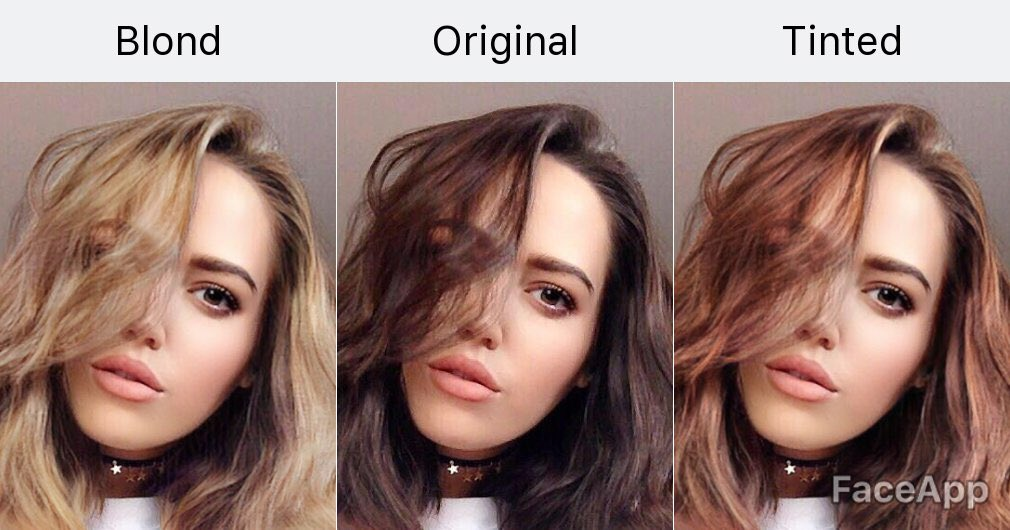 Gabriella On Twitter Found An App On Fb That Changes Your Hair