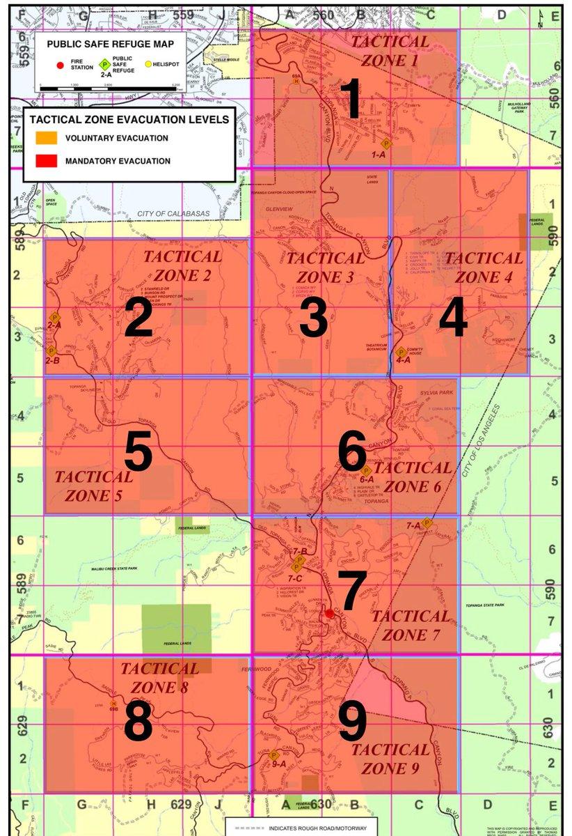 La County Sheriff S On Twitter Below Is A Map Of All Zones Under