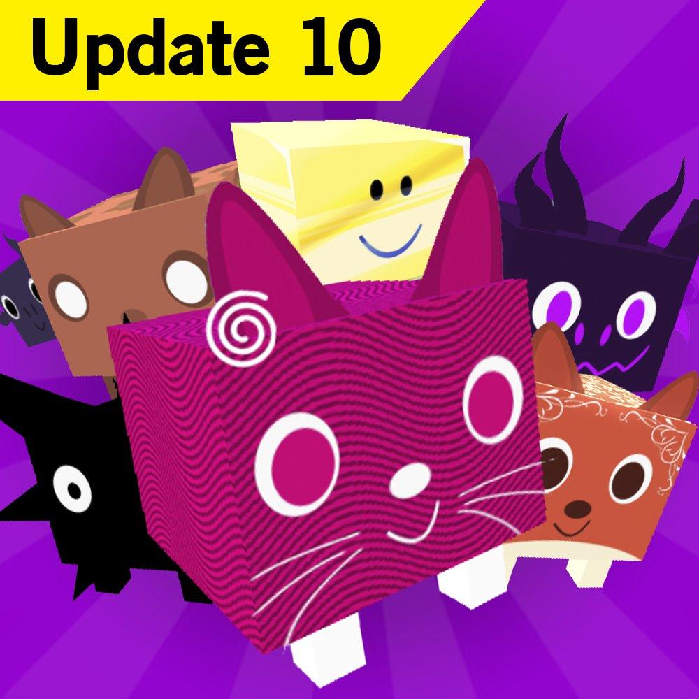 Big Games On Twitter Pet Simulator Update Is Live Tier