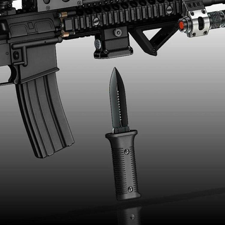 RT @esprit_of_spre: #いい銃の日 ここ最近に知って面白かったアタッチメントたち (4枚目は銃口につけることで1発目だけ非致死性の弾を撃てるアイテム) https://t.co/PqptUAgBlM