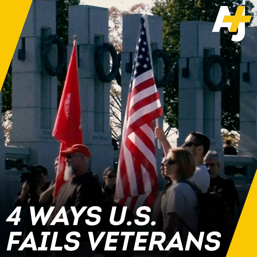 On Veterans Day, here are 4 ways the U.S. is failing veterans.