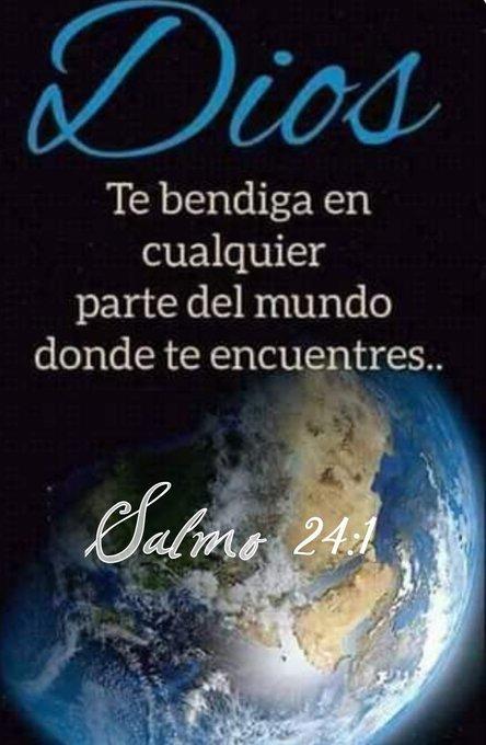 Salmo 24:1 De Jehová es la tierra y su plenitud; el mundo y los que en él habitan. ♡God-is-Good♡ Foto