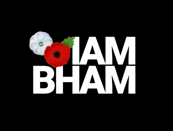 Remembrance Day commemorations take place on Sunday 11th November in Colmore Row, #Birmingham - Photo