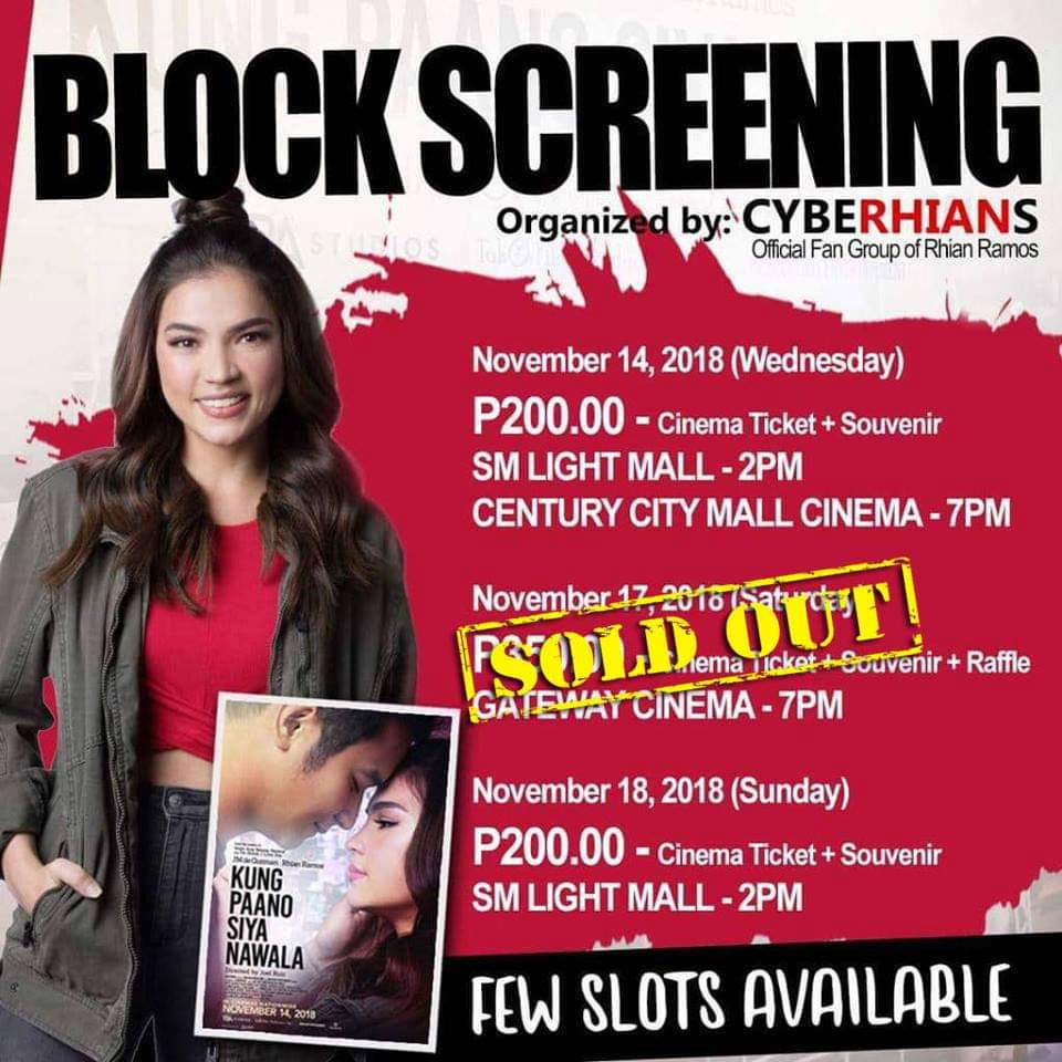 Today Is Your Last Chance To Register For Our Kungpaanosiyanawala Block Screenings Habol Na Guys Https Goo Gl Forms Ugf9zgse4rzbcgd73 Note The