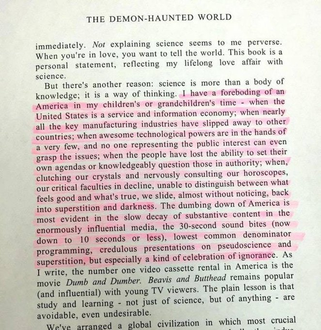 Happy Birthday Carl Sagan! An excerpt from one of my all time favorite books.