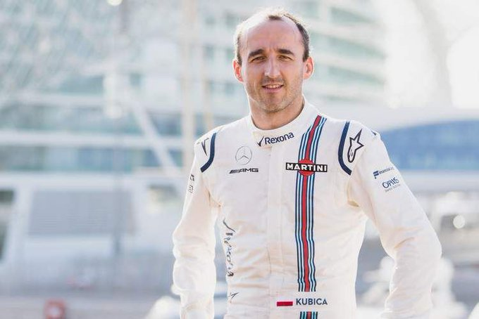 Kubica set to claim Williams seat for 2019 #F1 #BrazilianGP Photo