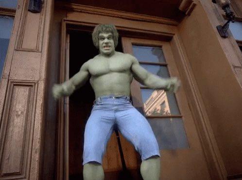 Happy Birthday to Lou Ferrigno! The BEST Hulk!