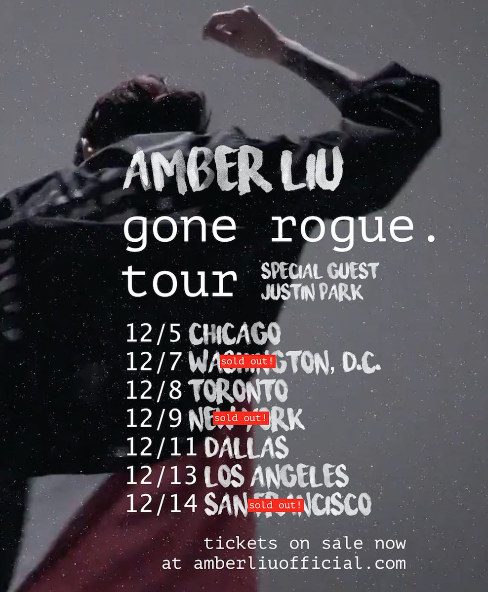 Hey guys tickets are going fast! Am i gunna see you on tour?? Freeeakking excited!!!!! #gonerogue   Get tickets here👇 https://t.co/FIpq2OA2AL