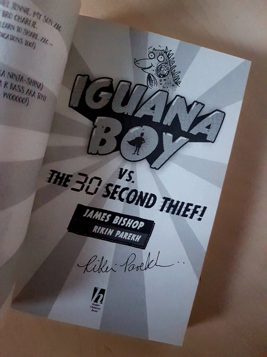 Really proud of being able to illustrate #IguanaBoy, so am giving away a signed/doodled copy of #IguanaBoyVsThe30SecondThief!  ReTweet and Follow!  Ends 16/11/18! (UK only!) #kidlit #childrensbook #superhero #fiction #kidlitart #illustration #sequel #iguana<br>http://pic.twitter.com/GaTyaawasg