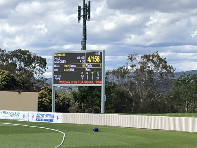 It's Tiger time! Well done @crickettas Tigers - two from two this weekend in the WNCL. Look who's on top! Photo