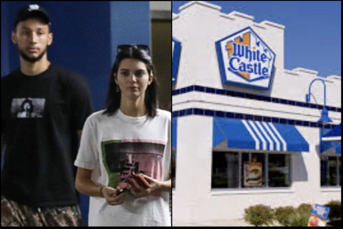 After Begging For Kendall Jenner to Take Him Back After She Cheated on Him Twice, Here Are Photos of Ben Simmons Taking Her on White Castles Date to Win Her Back (Pics-Vids) Photo