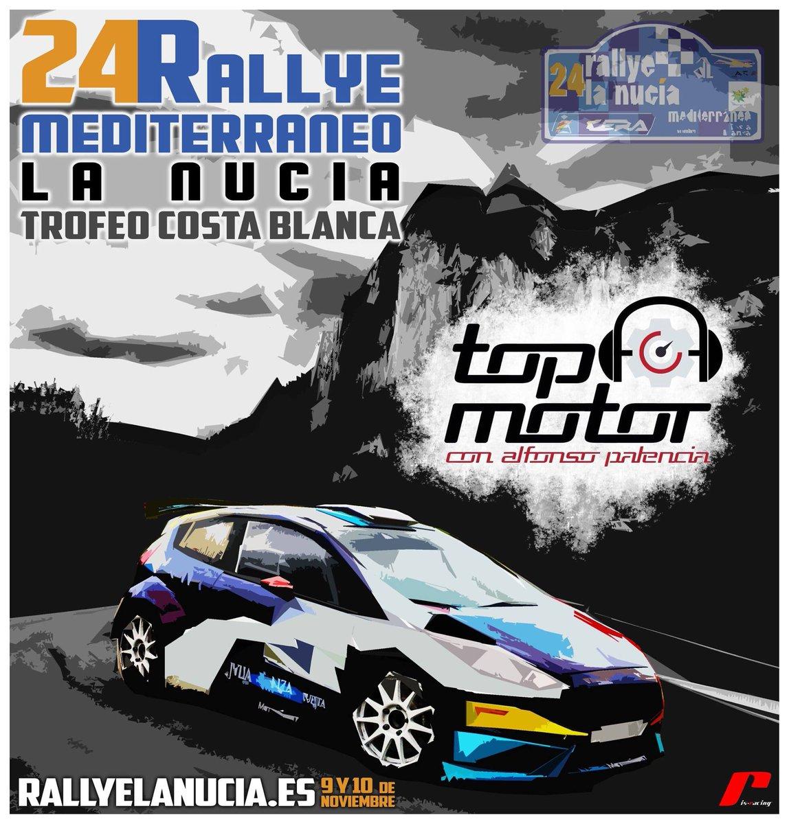 CERA: 24º Rallye La Nucía Mediterraneo - Trofeo Costa Blanca [9-10 Noviembre] - Página 2 Drnsg2QWkAI75et