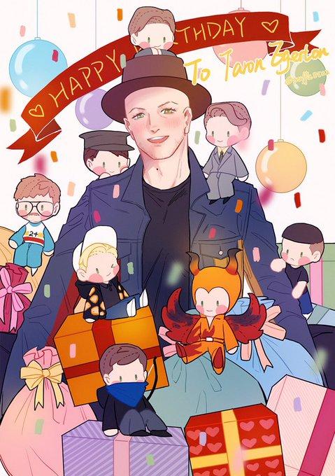 Happy Birthday to Taron Egerton