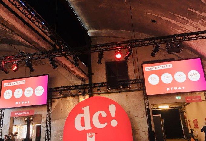 Das #SPDDC in Zahlen: 60+ Sessions. 10+ Stages. 90+ SpeakerInnen. 😳♥️☁️⭐️⚡️💬 Fehlt nur noch ihr. 😀 Bis gleich!! Foto