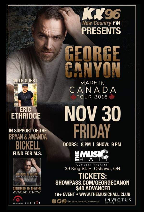 Good new our foundation is hosting a Concert in Oshawa November 30 hope to see u there.