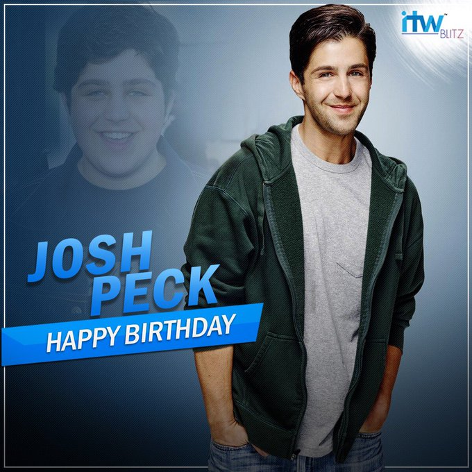 Wishing the Drake and Josh actor Josh Peck a very happy birthday!