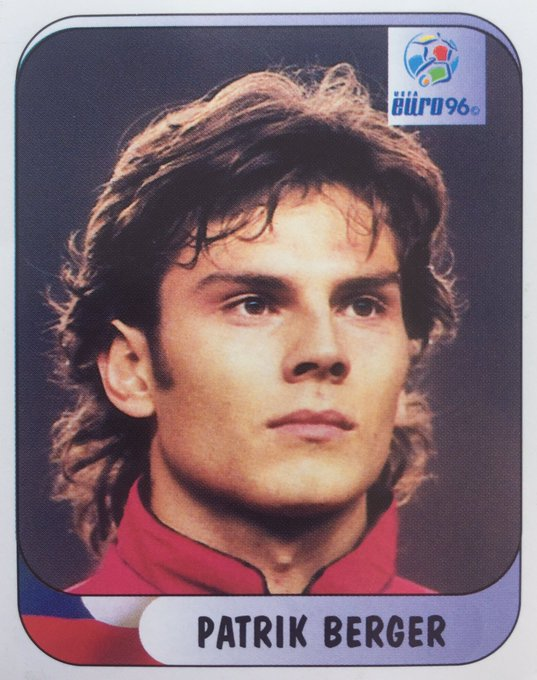 Patrik Berger - Czech Republic Merlin Euro 96 Happy birthday to who was born OTD 1973