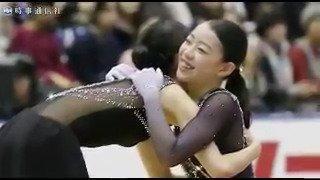 フィギュアスケート・NHK杯の女子シングルで、16歳の紀平梨花が優勝しました。宮原知子は2位に入りました。 記事→https://t.co/M2X9Z9G6Zh #フィギュアスケート #NHK杯 #紀平梨花 https://t.co/tgySBWWFGp