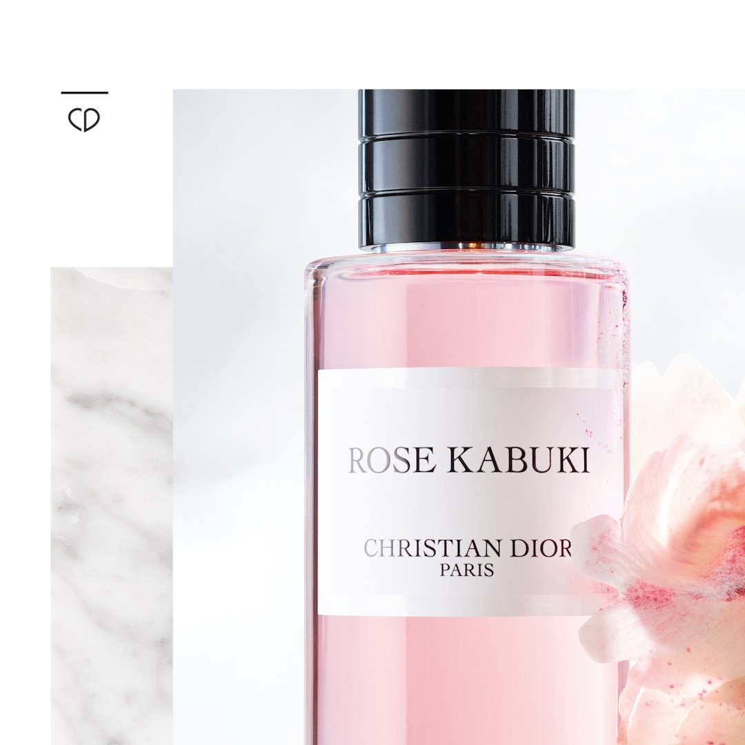 "Dior on Twitter: ""The new Maison Christian Dior fragrance, Rose ..."