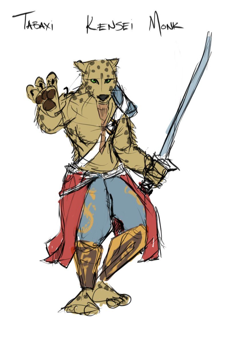 Graemation On Twitter I Ve Gone With The Tabaxi Monk And Have Opted For A Hairless Cat To Match Justify The 8 Charisma Tabaxi tend toward chaotic alignments, as they let impulse and fancy guide their decisions. ve gone with the tabaxi monk