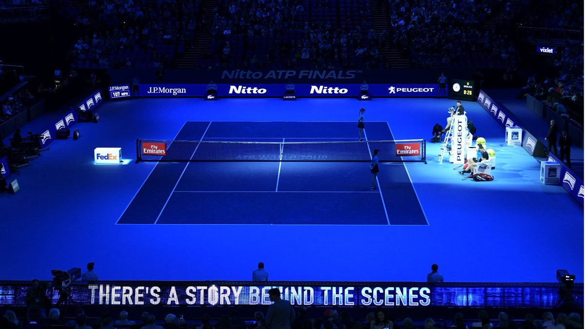Psssst....the @ATPWorldTour starts tomorrow in London 👀 Tickets still available to see the likes of @rogerfederer and @DjokerNole in action. #NittoATPFinals #ATP #Federer #Djokovic 👉 goo.gl/fxbnia