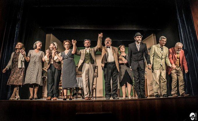 #10novembre Al Piccolo Teatro di #Foggia va in scena Io dei soldi me ne infischio però..., gli scatti di Mariano Russo Foto