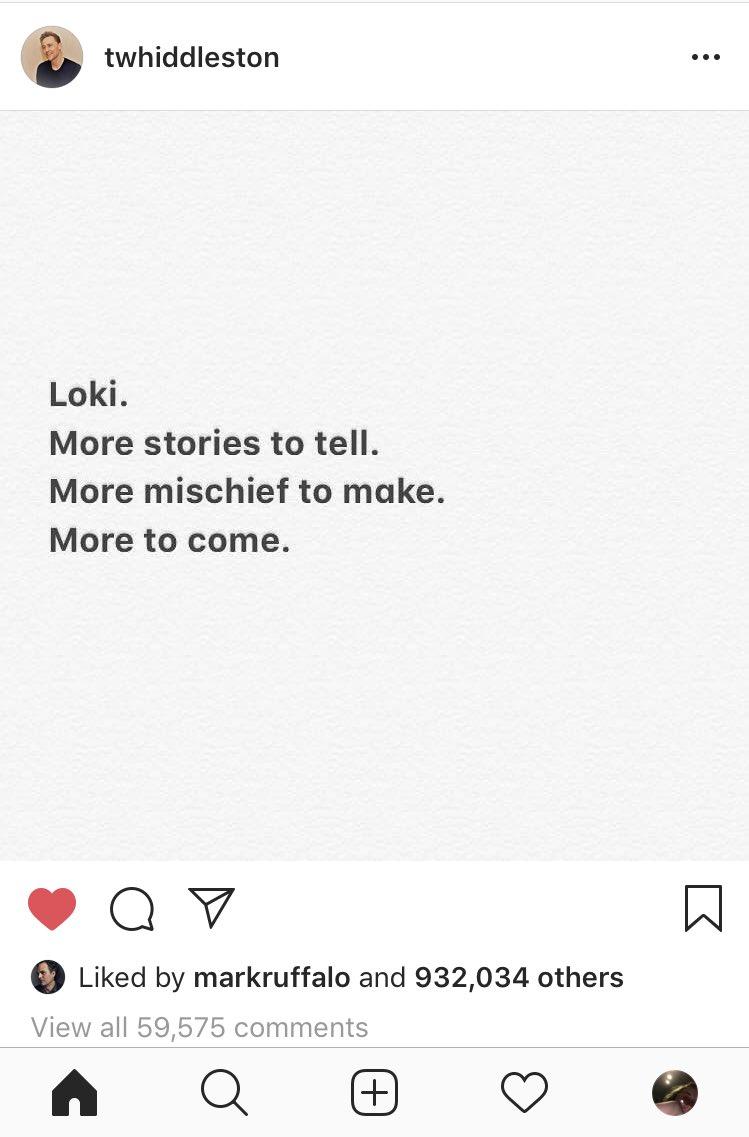 ً's photo on Loki