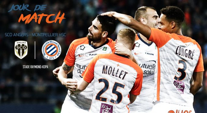 C'est #JourDeMatch 👊 🎟 #SCOMHSC 📆 RDV ce soir 🕗 20h 🏟 Stade Raymond-Kopa ⚽ J13 @Ligue1Conforama 💙🧡 Objectif 3 points 💪 Photo