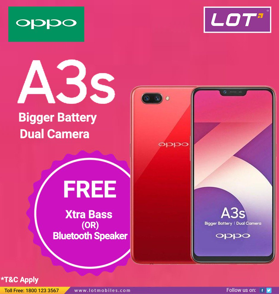 Nearest Battery Store >> Lot Mobiles On Twitter Oppoa3s Is Here With Bigger