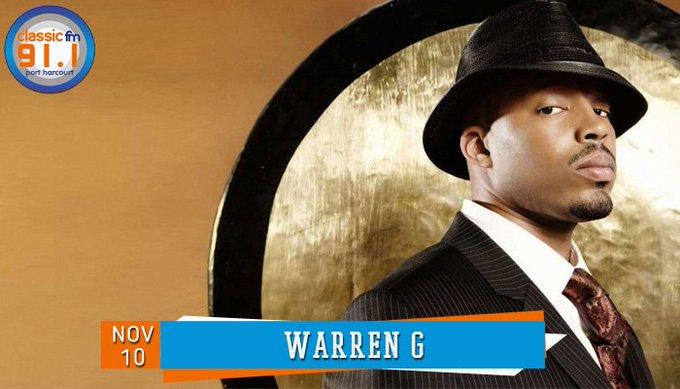Happy birthday to rapper, Warren G.