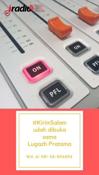 Yuk ikutan #KirimSalam #SenandungCinta bareng @lulugaz mumpung blm pada sibuk malem mingguan nih 😁 Photo
