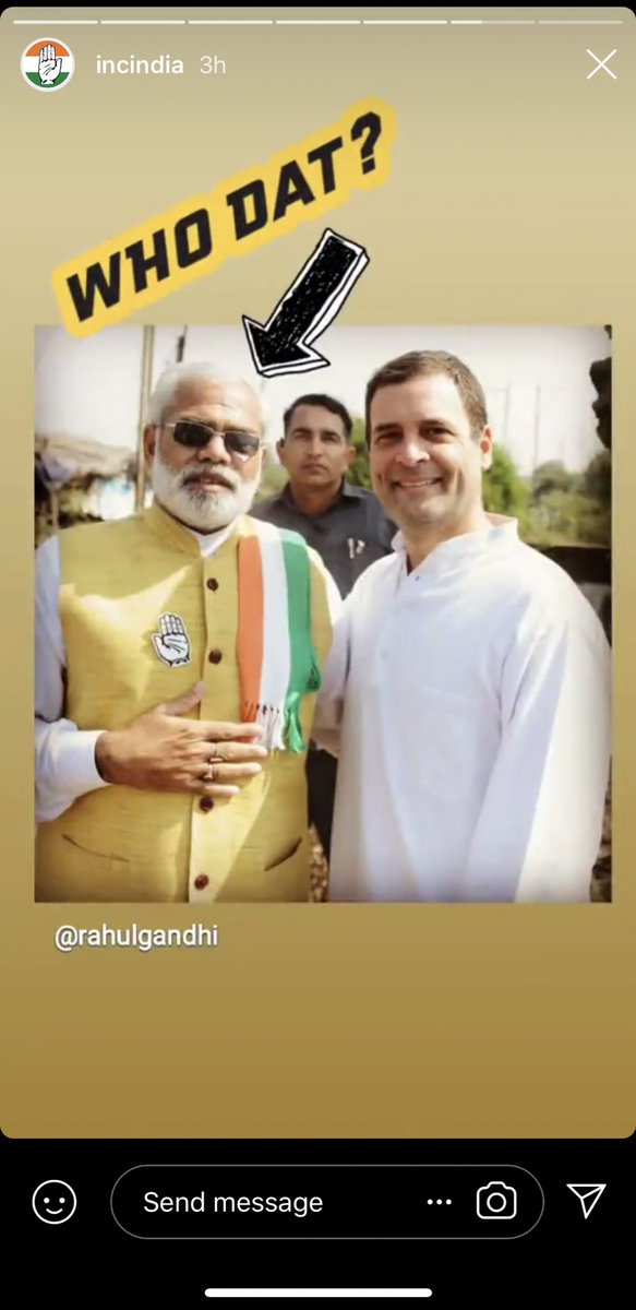 If you're on Instagram checkout @INCIndia stories and posts. If you like us do follow 🤗