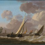 An ode to Willem van de Velde and Ludolf Bakhuizen by Jan van Os (1744 - 1808). A calm and rough Sea Oil on panel (both) 30 x 37,5 cm Signed  https://t.co/oTCCk42MkX