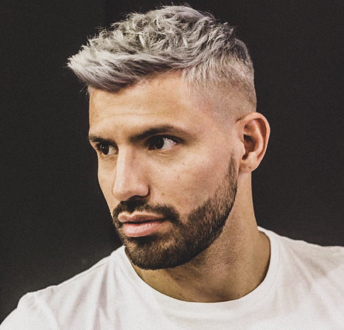 "sporf on twitter: ""🇦🇷 @aguerosergiokun reveals his new silver fox"