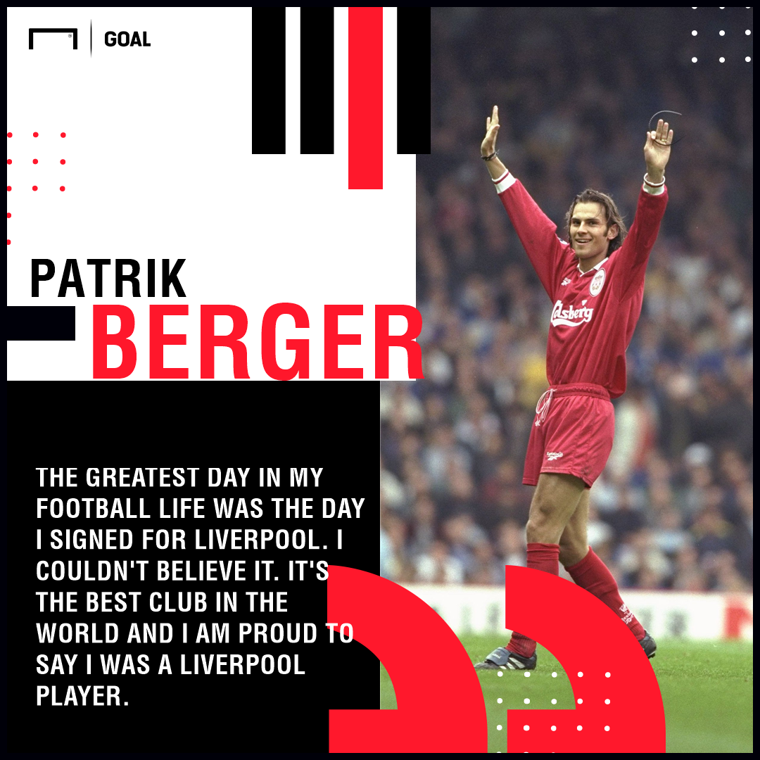 Happy Birthday, Patrik Berger!  195 games  35 goals FA Cup UEFA Cup  A true red.