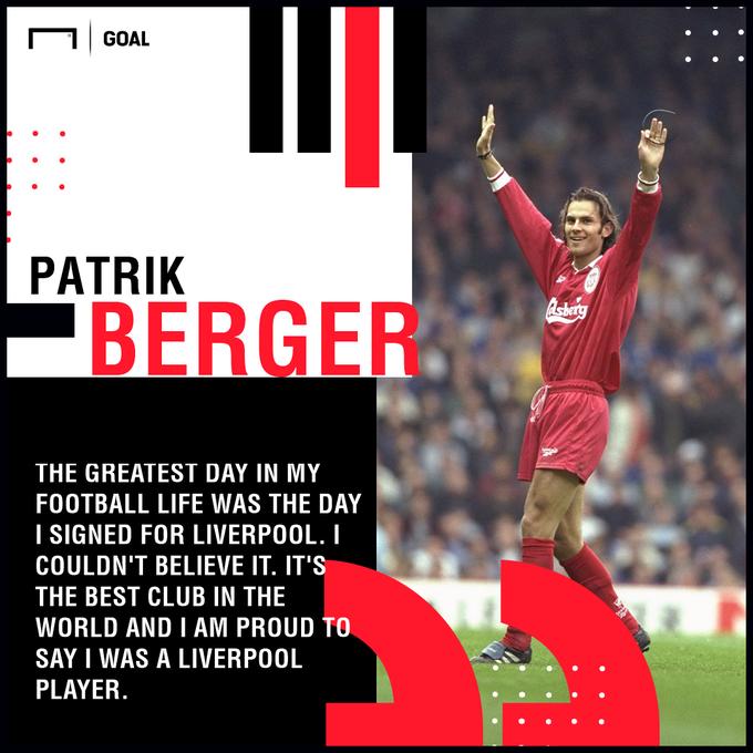 Happy Birthday, Patrik Berger!  195 games  35 goals FA Cup UEFA Cup  A true red.