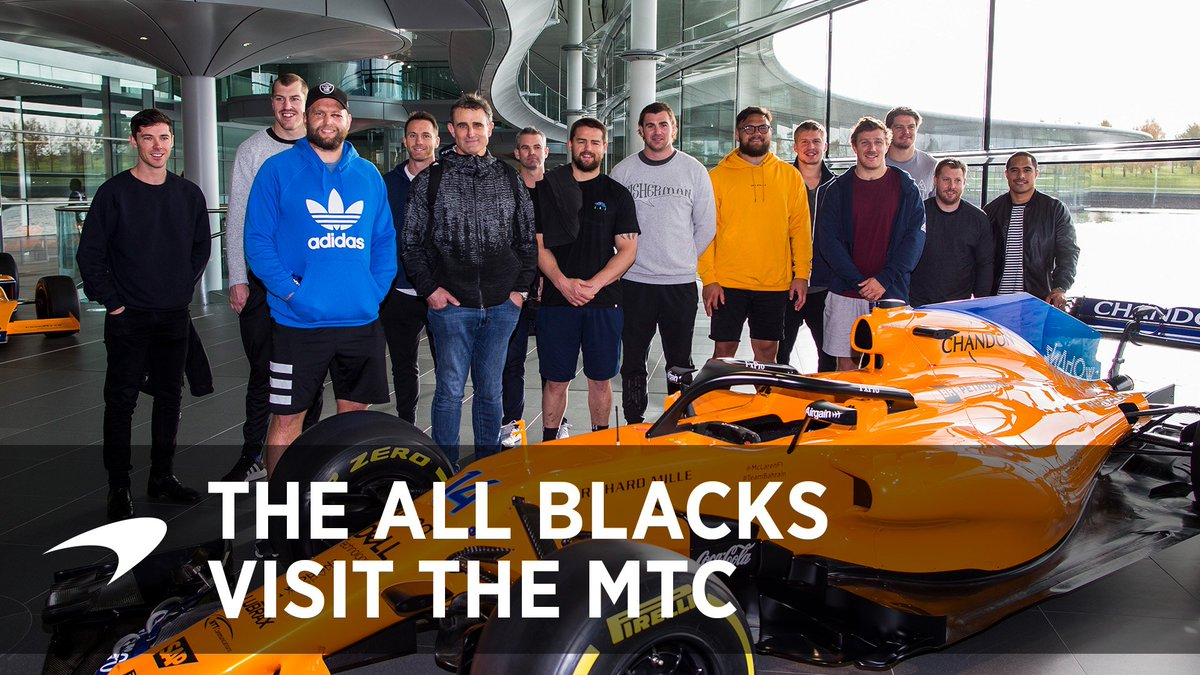 When two teams with a shared New Zealand heritage come together. 🇳🇿 Watch what happened when the @AllBlacks visited the MTC earlier this week. 🤝   Wishing both sides the best for today's #ENGvNZL game. 👊