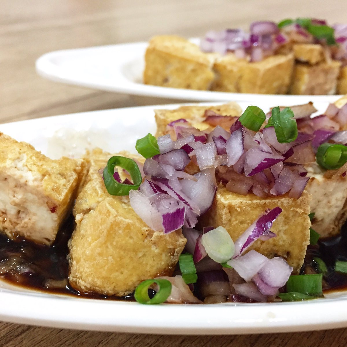 Fried Tofu  #foodphotography #foodporn #mobilephotography  #iphoneography  #chinesecuisine https://t.co/8AGSWwEoLE