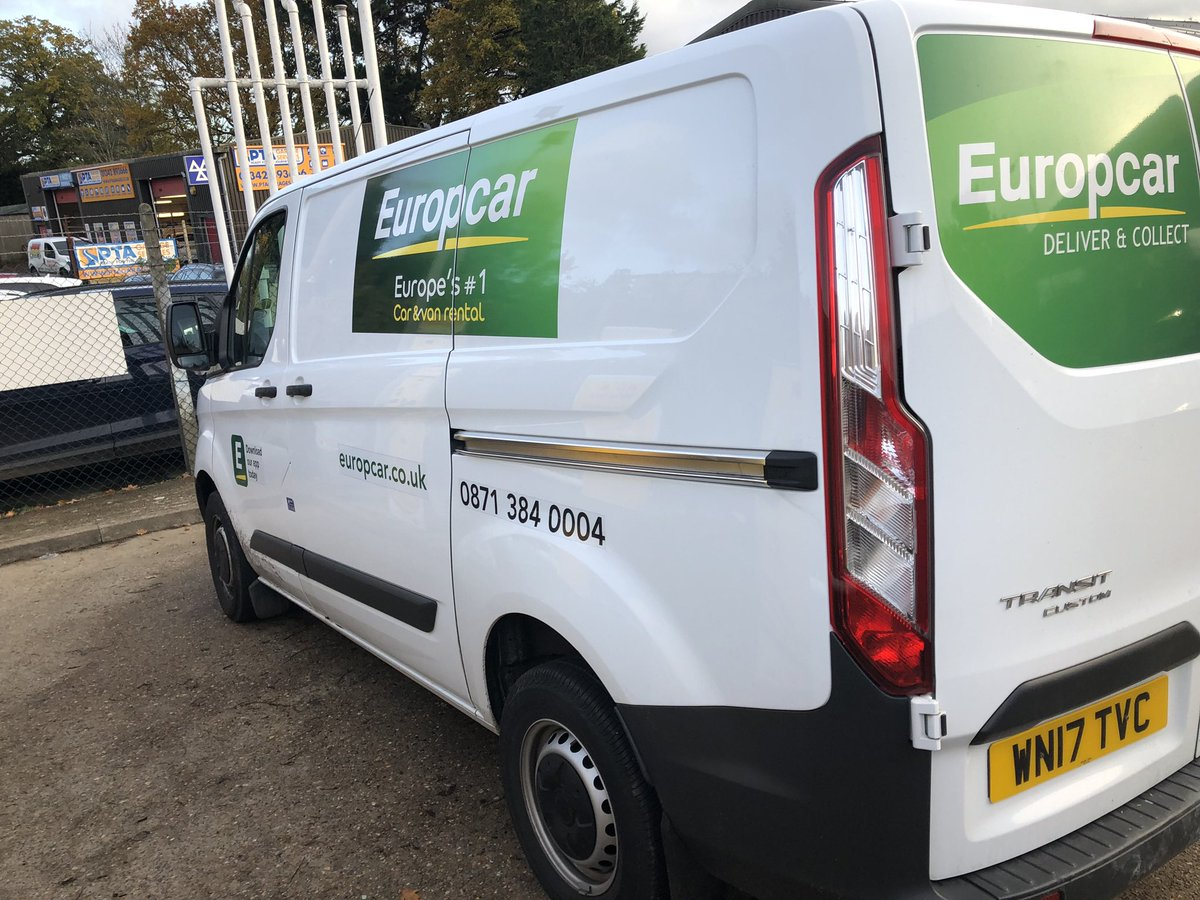 europcar van hire uk. Black Bedroom Furniture Sets. Home Design Ideas