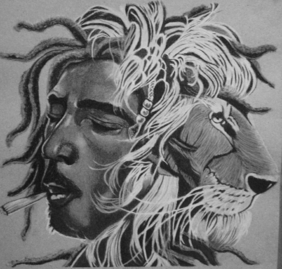 Officialjnrart On Twitter Pencil Drawing Tittle Lion Of Judea