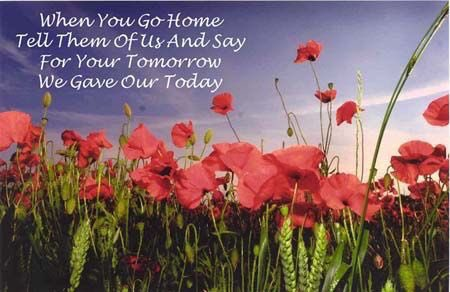 Image result for for your tomorrow we gave our today