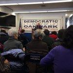 Image for the Tweet beginning: @OP_Dems Second Saturday meet, enjoying