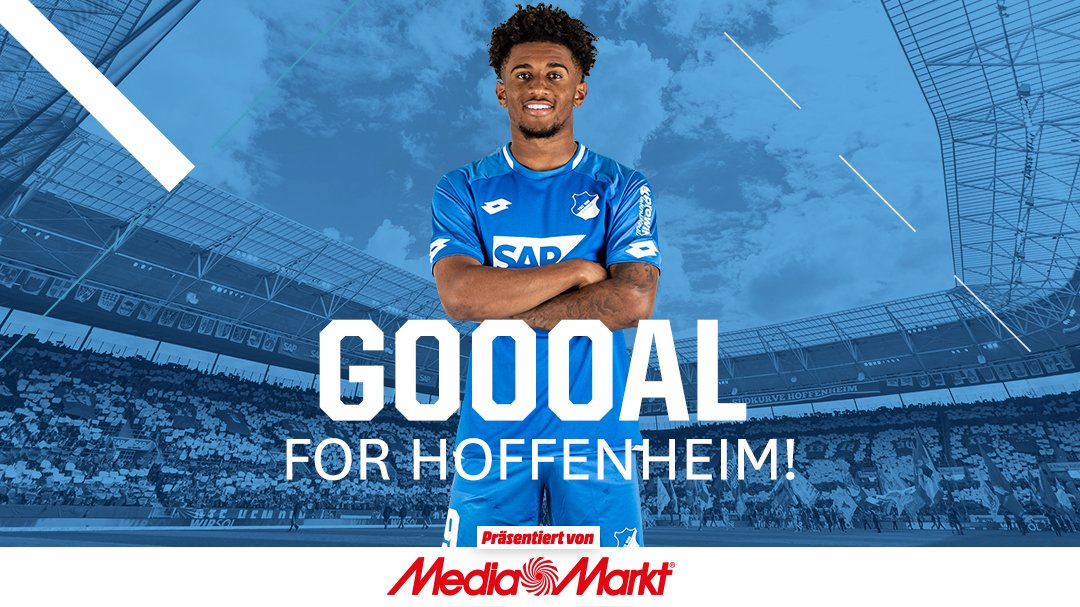 GET IN GEEZ!!! 💥  🔵 2-1 ⚪️ (84')  #TSGFCA https://t.co/IppXEwwhBz